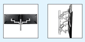 Monitor Arms: Atdec's Systema and Visidec Differences