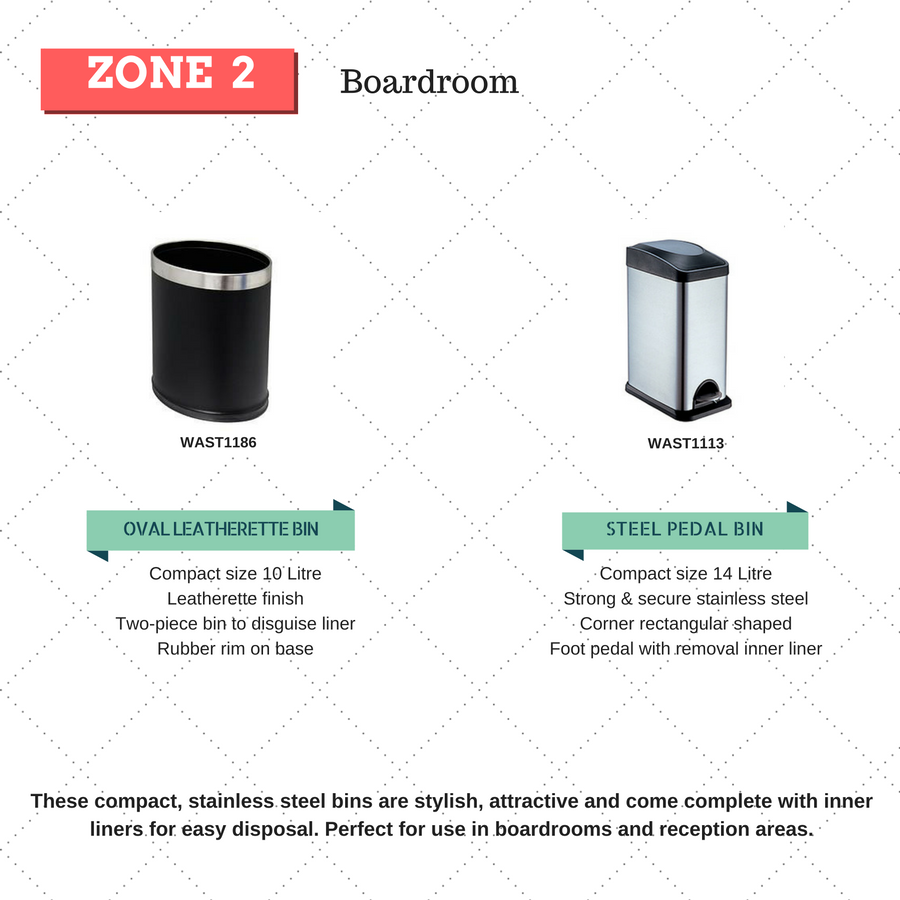rubbish bins for boardrooms