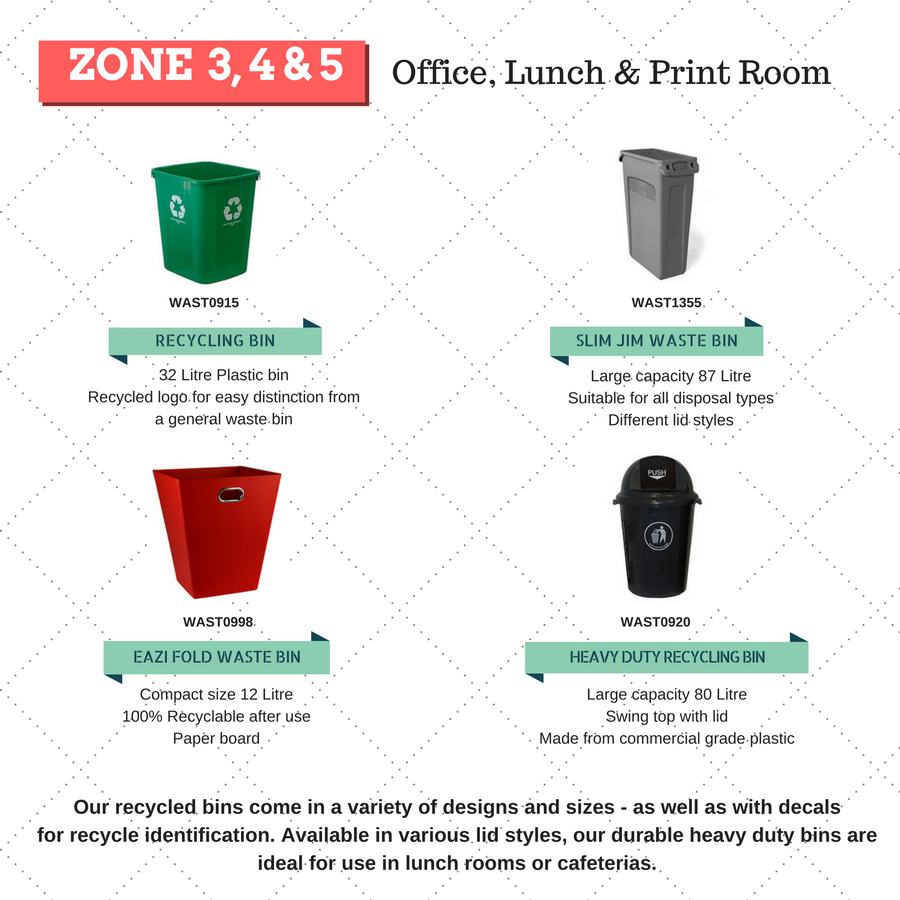 rubbish bins for office