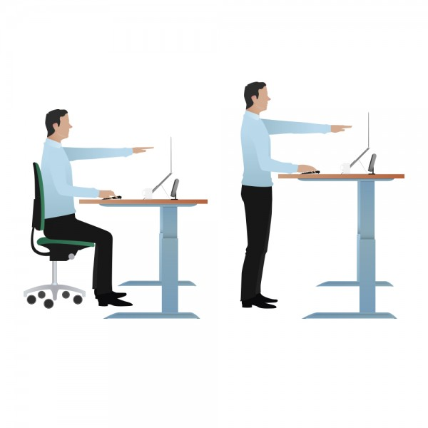 The Health Benefits of Standing Desks COS Fast Facts