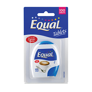 Equal tablets sweeteners