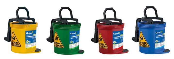 colour mop buckets