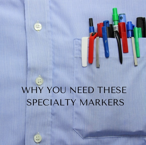 Why you need these specialty markers