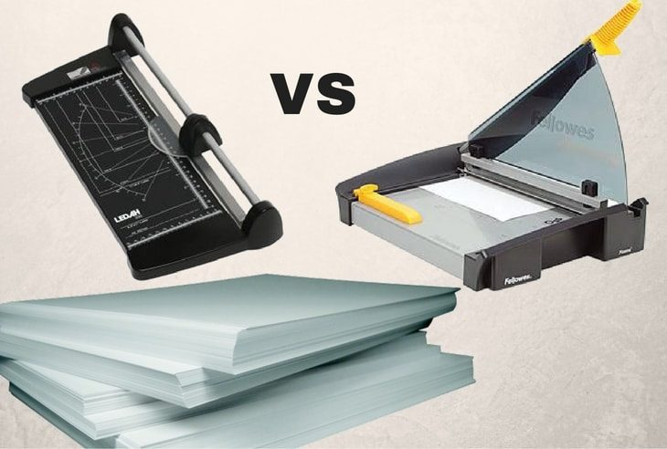 paper trimmer and guillotine
