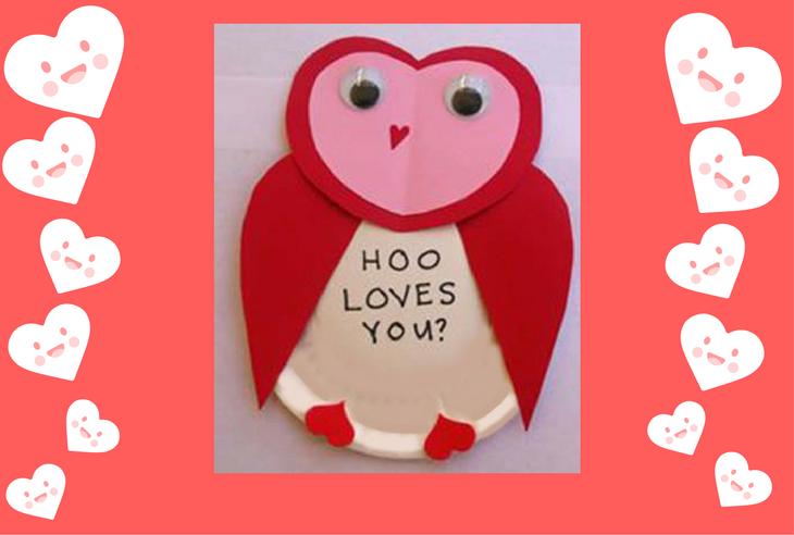 Valentine S Day Art Activity Using Paper To Make With Children